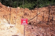 Đào móng nhà, phát hiện quả bom nặng hơn 140 kg