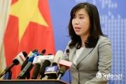 Việt Nam lên tiếng về cuộc diễn tập hải quân giữa ASEAN-Trung Quốc