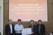 Công đoàn GTVT hỗ trợ gia đình công nhân đường sắt tử nạn