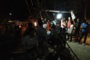 Yên Bái: Dân lập barie chặn xe chở đá trong đêm