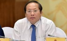 Tạm đình chỉ công tác Bộ trưởng Bộ TT&TT với ông Trương Minh Tuấn