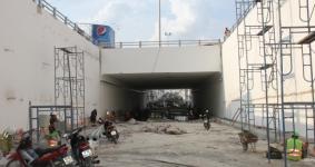 Clip, ảnh: Hầm chui Tân Phong trước ngày thông xe.