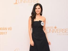 Nhan sắc 10 cô gái đầu tiên vào bán kết Hoa hậu Hoàn Vũ