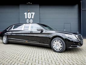Chiêm ngưỡng Mercedes-Maybach S600 Pullman có giá tới 19 tỷ đồng