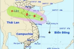 Tin mới Bão số 2 đổ bộ các tỉnh nào ở Việt Nam?