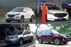 Bảng giá ô tô năm 2018 mới được công bố