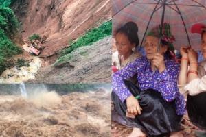 Toàn cảnh lũ quét, sạt lở đất kinh hoàng ở các tỉnh Tây Bắc