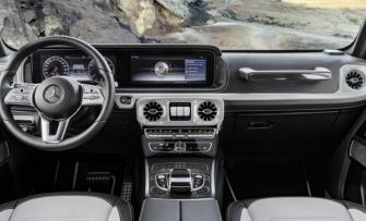 Xem trước khoang nội thất hoàn toàn mới trên Mercedes-Benz G-Class 2019