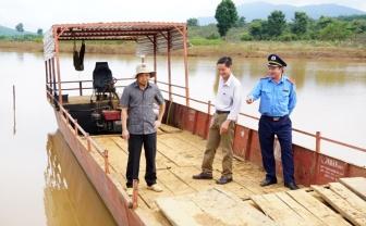 """Gia Lai: Bùng phát đò, thuyền """"3 không"""" trên lòng hồ thủy điện"""