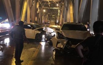 Video: Nhiều xế sang Lexus gây tai nạn kinh hoàng
