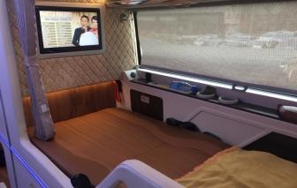 """Soi khoang """"thương gia"""" trên xe giường nằm cao cấp nhất Việt Nam"""