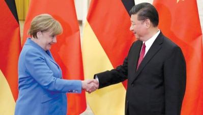 Đức có thể chống lại Mỹ, trở thành đồng minh của Trung Quốc?