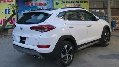 Hyundai Tucson Turbo bất ngờ xuất hiện tại Hà Nội