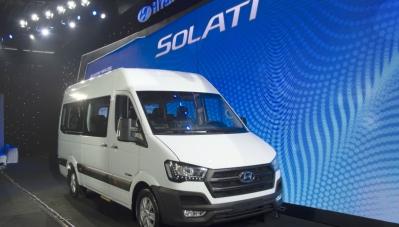 Chi tiết Hyundai Solati, đối thủ trực tiếp của Ford Transit
