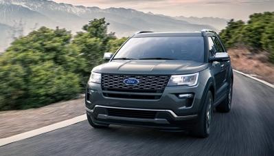 Ford Explorer bị thúc triệu hồi do mùi lạ trong xe