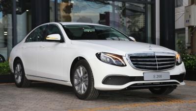 Chi tiết Mercedes-Benz E 200 mới nâng cấp, giá không đổi