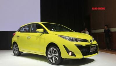 Chi tiết Toyota Yaris 2018, giá 650 triệu đồng