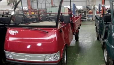 Thắt chặt quản lý xe chở hàng 4 bánh có gắn động cơ