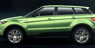 """Trung Quốc """"nhái"""" xe Range Rover Evoque giá bằng 1/3"""