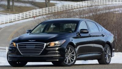 """Genesis """"ly khai"""" Hyundai"""