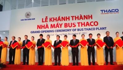 Trường Hải khánh thành nhà máy xe bus lớn nhất Đông Nam Á 