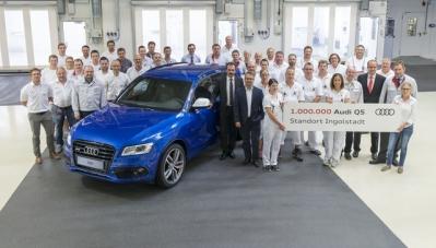 Audi xuất xưởng chiếc SUV hạng sang Q5 thứ 1 triệu