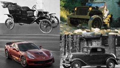 Những mẫu xe biểu tượng của ngành công nghiệp ô tô Mỹ