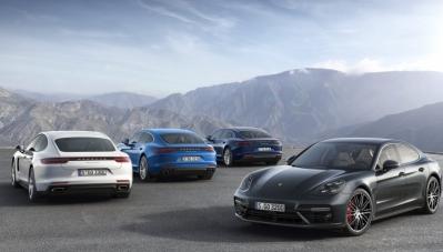 """Porsche trình làng Panamera """"ăn xăng"""" ít ngang Chevrolet Spark"""