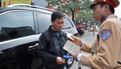 Đề xuất xử phạt lái xe qua tài khoản ngân hàng