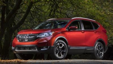 Mẫu SUV Honda CR-V 2017 sẽ có tùy chọn động cơ diesel