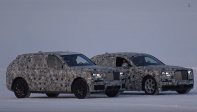 Rolls-Royce Cullinan và Phantom 2018 bất ngờ cùng xuất hiện