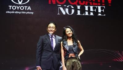 Rapper Suboi làm đại diện thương hiệu Toyota tại Việt Nam