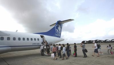 Hành khách kẹt từ Côn Đảo đã được đưa về đất liền