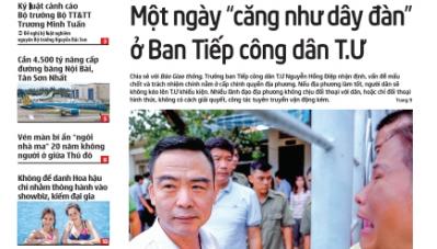 Tin mới nhất, hay nhất trên Báo Giao thông ngày 13/7/2018