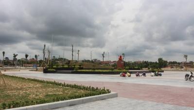 """Ngắm Công viên Fidel Castro ở vùng """"đất lửa"""" Quảng Trị"""