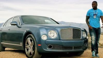 50 Cent- 'Ngôi sao' nhạc Rap phá sản vì siêu xe