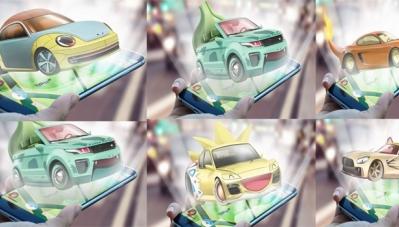 Lạ lẫm với bộ ảnh các hãng xe trong Pokémon Go