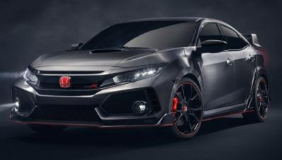 Honda Civic Type R Prototype lộ ảnh chính thức trước giờ G