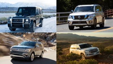 Những mẫu SUV tốt nhất hiện nay