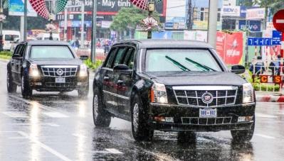Bao nhiêu chiếc Cadillac One phục vụ Tổng thống Mỹ sang Việt Nam?
