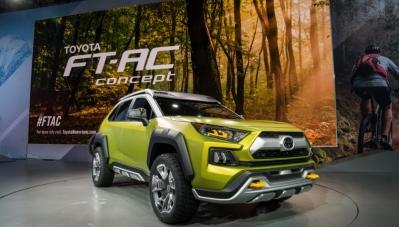 Toyota ra mắt SUV địa hình cỡ nhỏ
