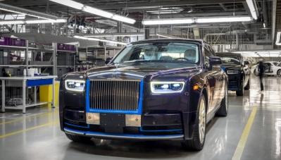 Chiêm ngưỡng Rolls-Royce Phantom 2018 đầu tiên trên thế giới