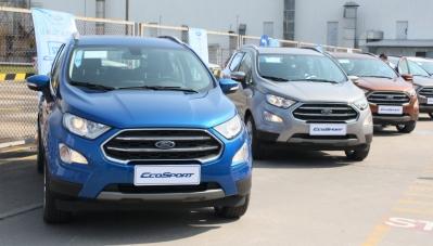 Ford EcoSport 2018 chính thức xuất xưởng tại Việt Nam