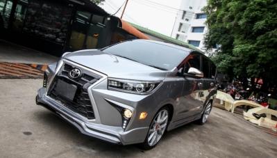 Toyota Innova độ phong cách Lexus siêu chất tại Việt Nam