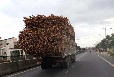 Khánh Hòa tăng cường xử lý xe quá tải