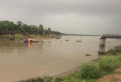 Nghi vấn tàu chở cát tông sập cầu Sông Hoàng ở Thanh Hóa