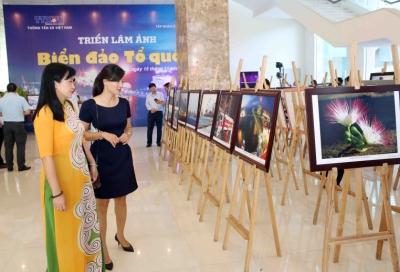 """Khai mạc triển lãm ảnh """"Biển đảo Tổ quốc"""" tại Đà Nẵng"""