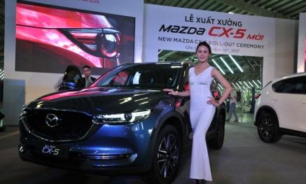 Chi tiết những trang bị của Mazda CX-5 2018 vừa xuất xưởng