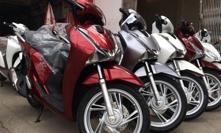 Giá lăn bánh xe tay ga cao cấp Honda SH mới nhất
