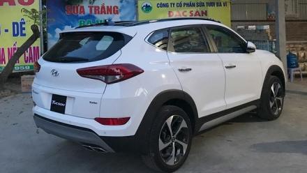 Đại lý rò rỉ giá bán xe Hyundai Tucson lắp ráp trong nước